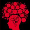 mozek červený